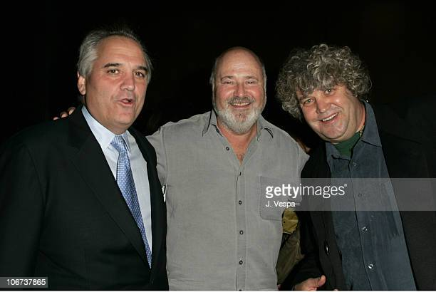 Vin Roberti Rob Reiner and Jeff Dowd attend the Palisades Pictures screening of Going Upriver The Long War of John Kerry to kick off its college tour...