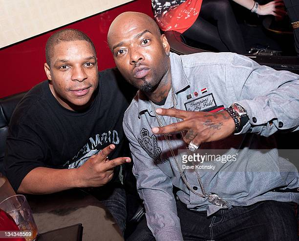 Vin Rock and Treach pose at the Canal Room on March 26 2011 in New York City