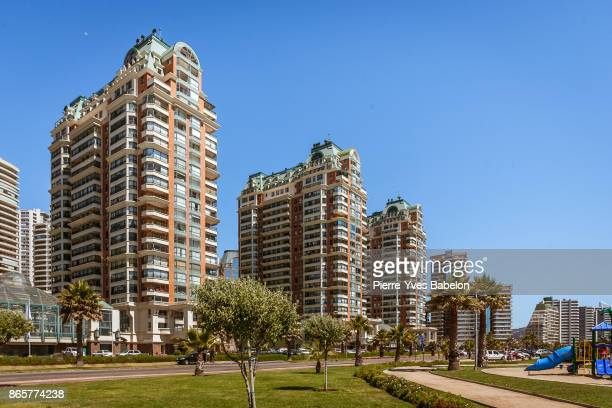 vina del mar - vina del mar stock pictures, royalty-free photos & images