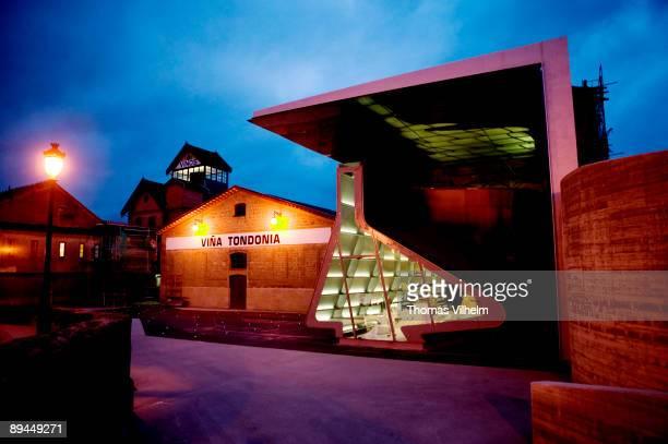 """""""Vina Tondonia"""" Winery. La Rioja. Showroom designed by Zaha Hadid."""