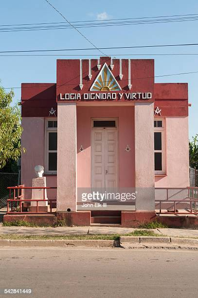 vinales town, chapel - pinar del rio stock photos and pictures