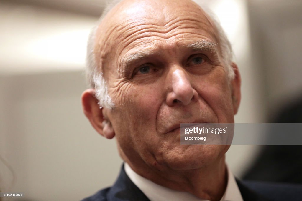 Liberal Democrats Party Choose Vince Cable As Their New Leader