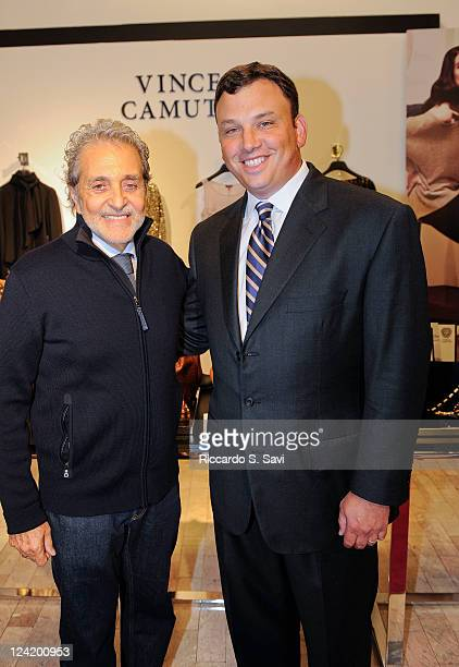Vince Camuto and Brendan Hoffman attends Fashion Night Out at Lord Taylor on September 8 2011 in New York City