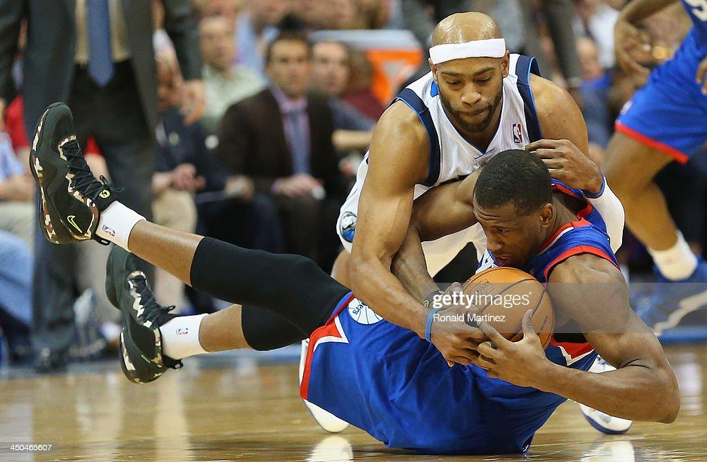 Philadelphia 76ers v Dallas Mavericks
