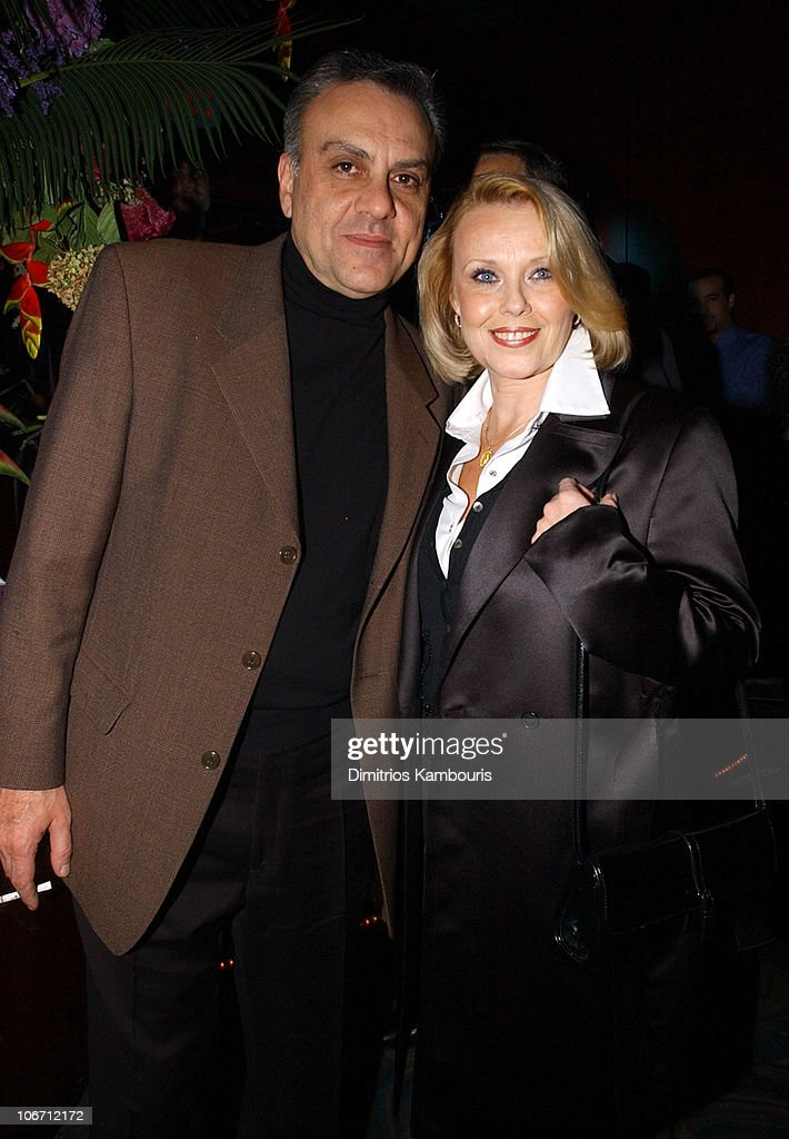 Vince Curatola and guest during HBO Films/Newmarket Films 'Real Women Have Curves' Premiere - After-Party - New York at B.B. King's Blues Club and Grill in New York, New York, United States.