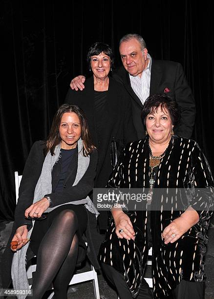 Vince Curatola Leta Gandolfini Johanna Antonacci and Angela Tarentino attends The 7th Annual New Jersey Hall Of Fame Induction Ceremony on November...