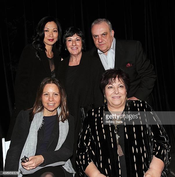 Vince Curatola Leta Gandolfini Johanna Antonacci Deborah Gandolfini and Angela Tarentino attends The 7th Annual New Jersey Hall Of Fame Induction...
