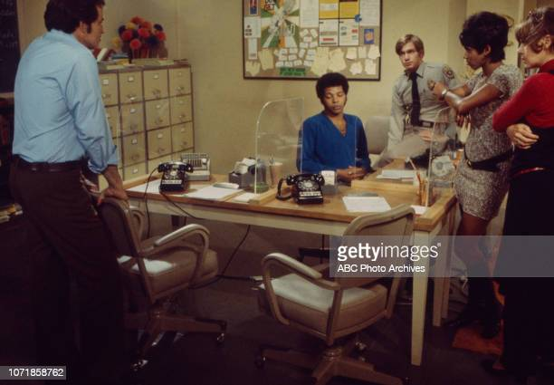 Vince Edwards Felton Perry Michael Larrain Chelsea Brown June Harding appearing in the Walt Disney Television via Getty Images series 'Matt Lincoln'...