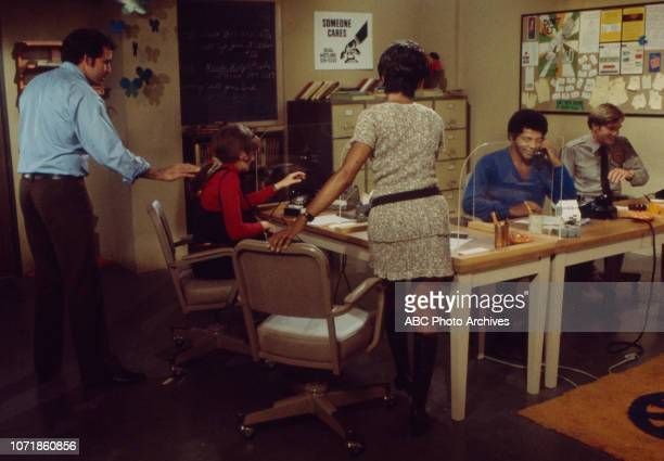 Vince Edwards June Harding Chelsea Brown Felton Perry Michael Larrain appearing in the Walt Disney Television via Getty Images series 'Matt Lincoln'...