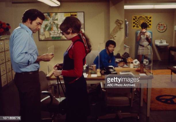 Vince Edwards June Harding Felton Perry Chelsea Brown appearing in the Walt Disney Television via Getty Images series 'Matt Lincoln' episode 'Charles'
