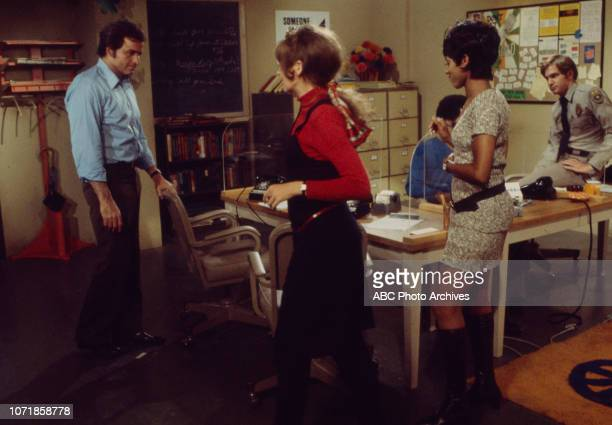 Vince Edwards June Harding Felton Perry Chelsea Brown Michael Larrain appearing in the Walt Disney Television via Getty Images series 'Matt Lincoln'...