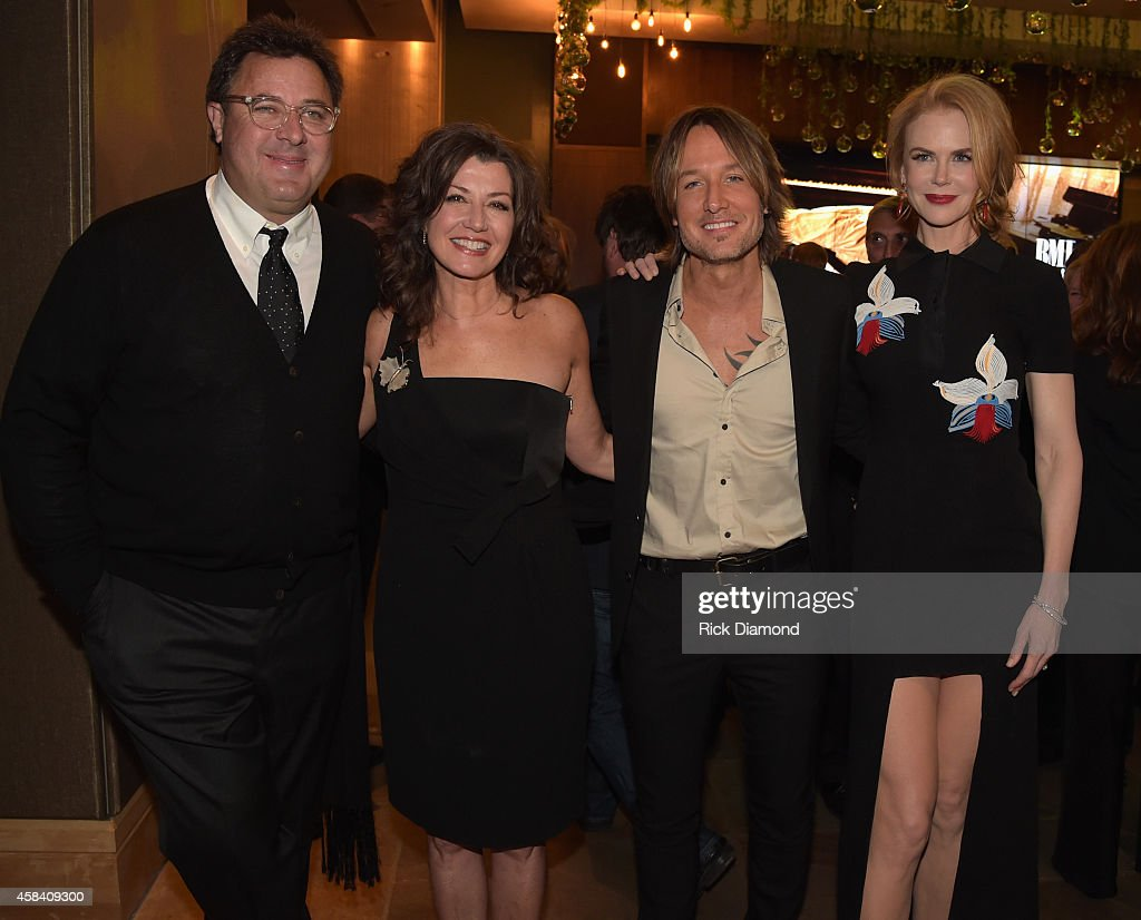 Vince Gill, Amy Grant, Keith Urban, and Nicole Kidman attend the BMI 2014 Country Awards at BMI on November 4, 2014 in Nashville, Tennessee.