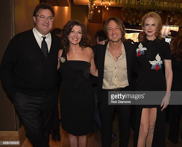 Vince Gill Amy Grant Keith Urban and Nicole Kidman attend the BMI 2014 Country Awards at BMI on November 4 2014 in Nashville Tennessee