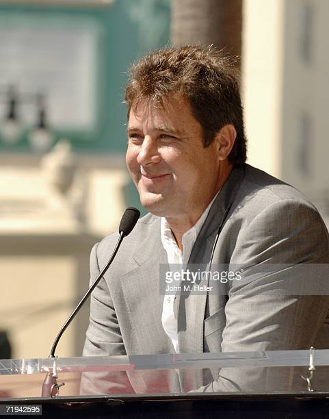 Vince Gill attended the unveiling of Amy Grant's star on The Hollywood Walk of Fame September 19 2006 in Hollywood California