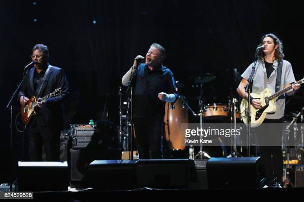 Vince Gill Don Henley and Deacon Frey of The Eagles perform onstage during The Classic East Day 1 at Citi Field on July 29 2017 in New York City