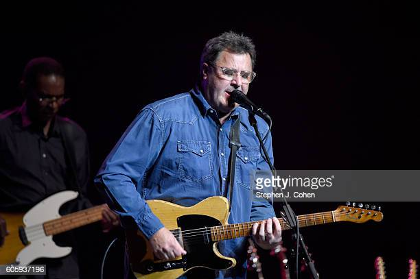 Vince Gill performs at Whitney Hall on September 15 2016 in Louisville Kentucky