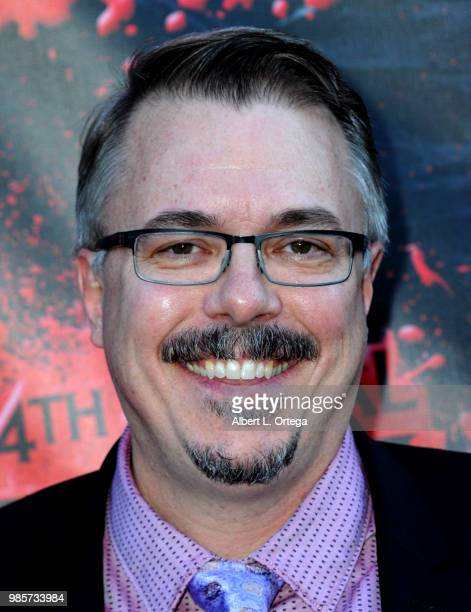 Vince Gilligan attends the Academy Of Science Fiction, Fantasy & Horror Films' 44th Annual Saturn Awards at The Castaway on June 27, 2018 in Burbank,...