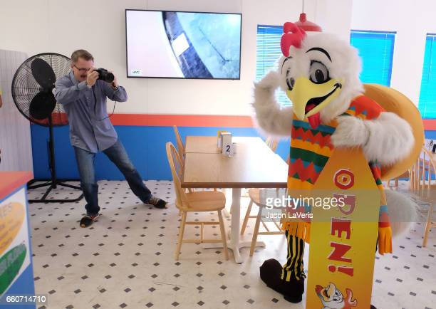 Vince Gilligan attends the Los Pollos Hermanos popup on March 30 2017 in Los Angeles California