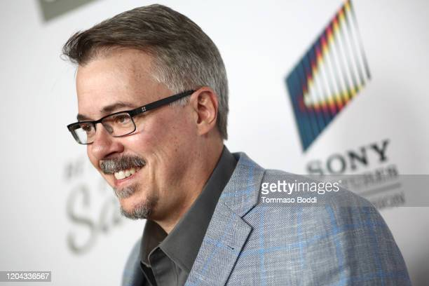 Vince Gilligan attends the premiere of AMC's Better Call Saul Season 5 at ArcLight Cinemas on February 05 2020 in Hollywood California