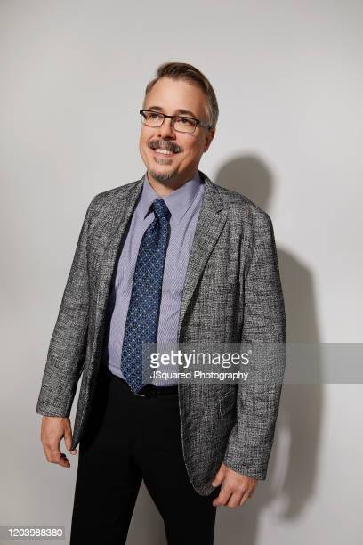 Vince Gilligan of AMC's Better Call Saul' poses for a portrait during the 2020 Winter TCA Portrait Studio at The Langham Huntington Pasadena on...