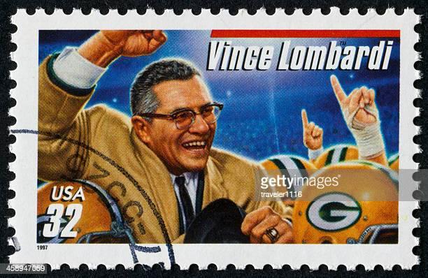 Vince Lombardi Stamp