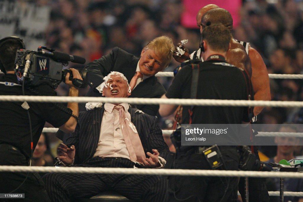WrestleMania 23 : News Photo