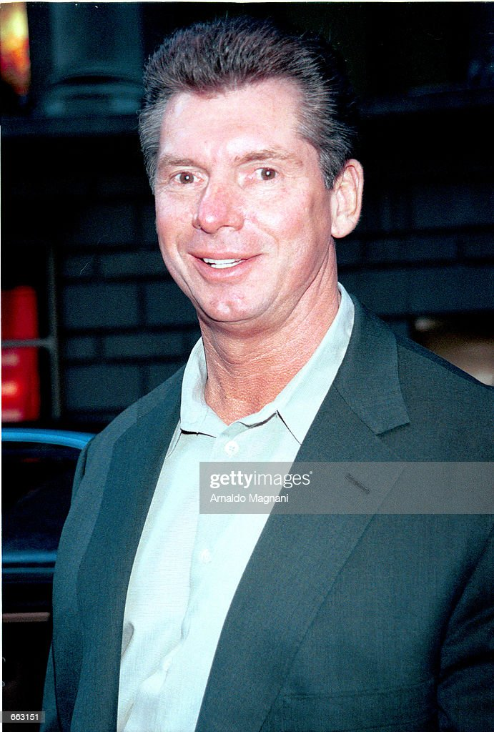 Vince McMahon President and CEO of the WWF : News Photo