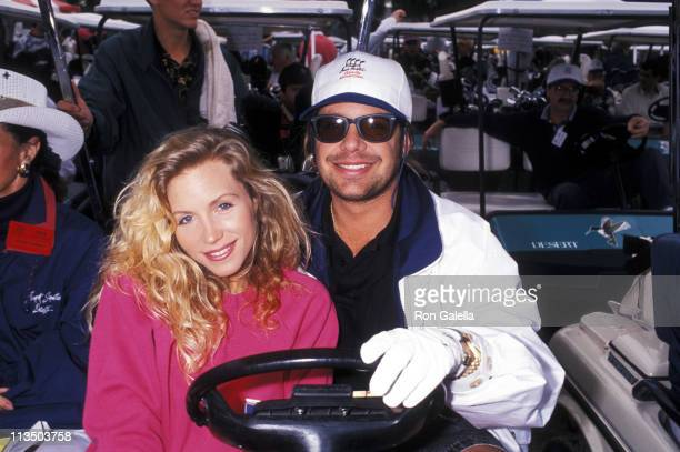 Vince Neal and Sharise Ruddell during 6th Annual Frank Sinatra Celebrity Golf Tournament at Marriott's Desert Springs Resort in Palm Springs...