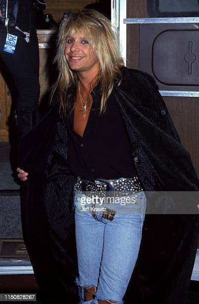 Vince Neil at the 1990 MTV Video Music Awards at in Los Angeles California
