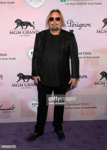 Vince Neil attends the 22nd annual Keep Memory Alive 'Power of Love Gala' benefit for the Cleveland Clinic Lou Ruvo Center for Brain Health at MGM...