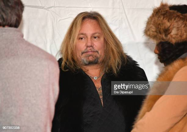 Vince Neil attends the 'Mandy' Premiere during the 2018 Sundance Film Festival at Park City Library on January 19 2018 in Park City Utah