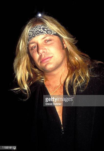 Vince Neil during Vince Neil at Club USA 1993 at Club USA in New York City New York United States
