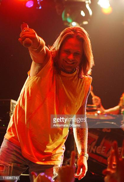 Vince Neil during Vince Neil of MOetley Cr#971e Performs Special Concert With Special Guests at Key Club in West Hollywood California United States