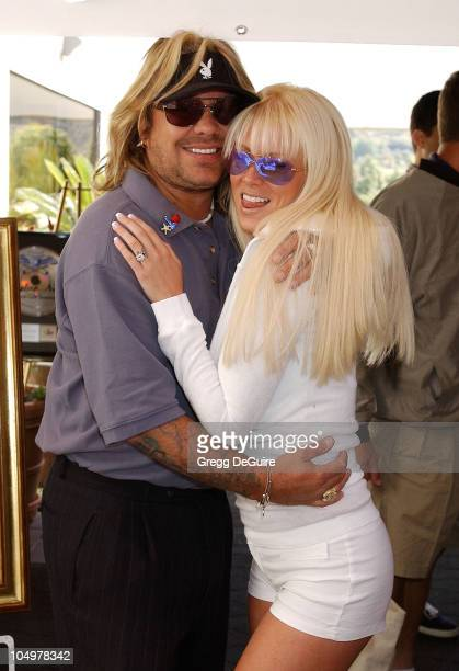 Vince Neil Jenna Jameson during 6th Annual Skylar Neil Memorial Golf Tournament To Benefit The TJ Martell Foundation/Neil Bogart Memorial Fund at...