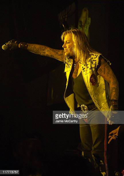 Vince Neil of Motley Crue during Anniversary Weekend of Body English at Hard Rock Hotel Casino Motley Crue in Concert at Hard Rock Hotel Casino in...