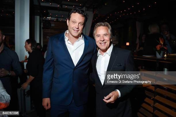 Vince Vaughn and Don Johnson attend 'Brawl In Cell Block 99' Premiere Party Hosted By Cactus Club Cafe At First Canadian Place In partnership With...