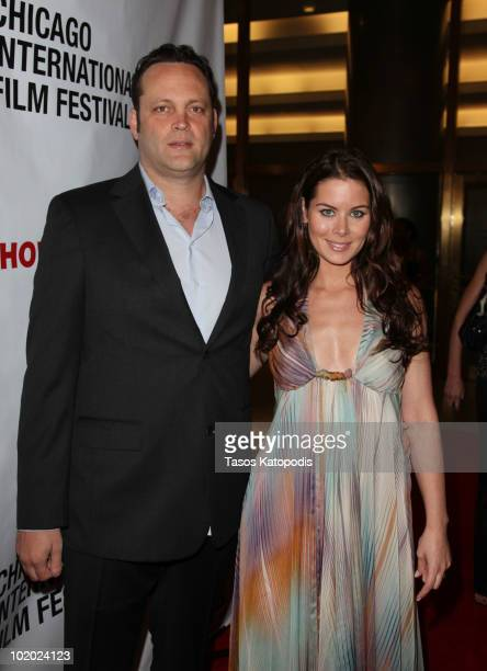 Vince Vaughn and Kyla Weber attends the Chicago International Film Festival at the Museum of Science and Industry on June 12 2010 in Chicago Illinois