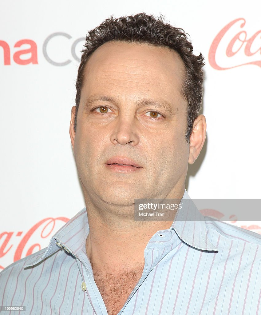 Vince Vaughn arrives at the CinemaCon 2013 Big Screen Achievement Awards held at Caesars Palace during CinemaCon, the official convention of the National Association of Theatre Owners on April 18, 2013 in Las Vegas, Nevada.