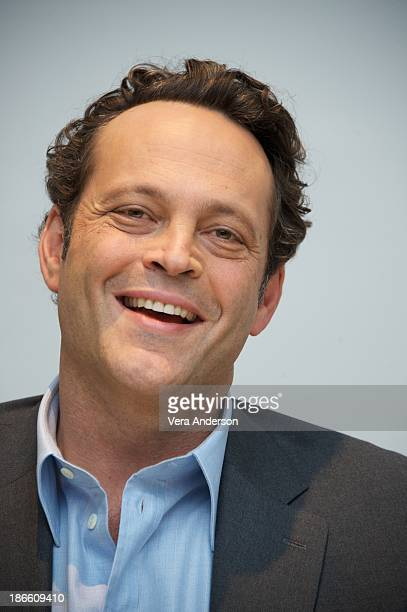 Vince Vaughn at the 'Delivery Man' Press Conference at the Four Seasons Hotel on November 1 2013 in Beverly Hills City