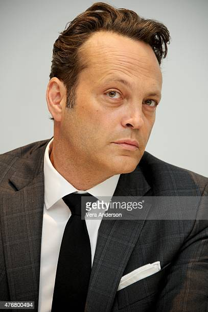 """Vince Vaughn at the """"True Detective"""" Press Conference at the Four Seasons Hotel on June 05, 2015 in Beverly Hills, California."""