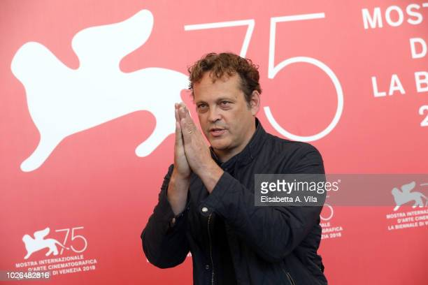 Vince Vaughn attends 'Dragged Across Concrete' photocall during the 75th Venice Film Festival at Sala Casino on September 3, 2018 in Venice, Italy.