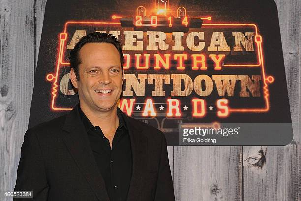 Vince Vaughn attends the 2014 American Country Countdown Awards at Music City Center on December 15 2014 in Nashville Tennessee