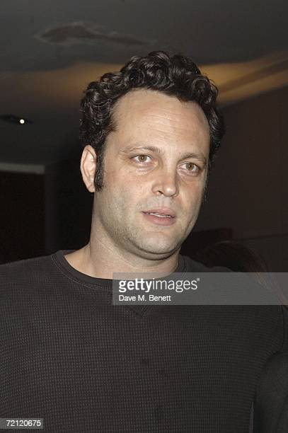 Vince Vaughn attends the '24 Hour Plays' gala party at the Riverbank Plaza Hotel after the performance at the Old Vic Theatre on October 8 2006