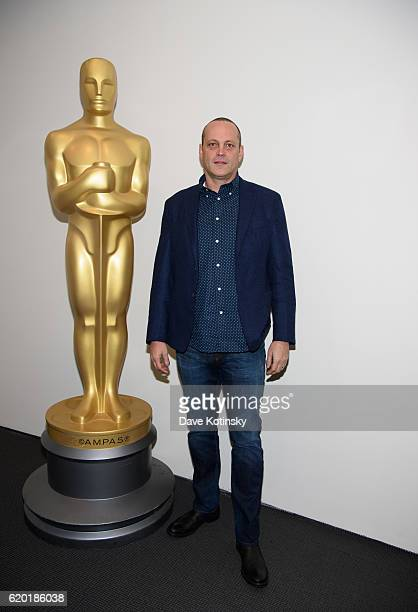 Vince Vaughn attends The Academy of Motion Picture Arts and Sciences Official Academy Screening of HACKSAW RIDGE at MOMA Celeste Bartos Theater on...