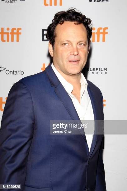 Vince Vaughn attends the 'Brawl in Cell Block 99' premiere during the 2017 Toronto International Film Festival at Ryerson Theatre on September 12...