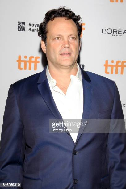 """Vince Vaughn attends the """"Brawl in Cell Block 99"""" premiere during the 2017 Toronto International Film Festival at Ryerson Theatre on September 12,..."""