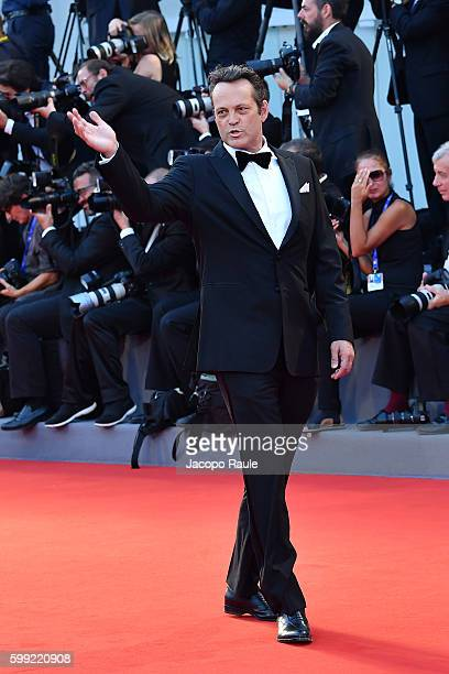 Vince Vaughn attends the premiere of 'Hacksaw Ridge' during the 73rd Venice Film Festival at Sala Grande on September 4 2016 in Venice Italy