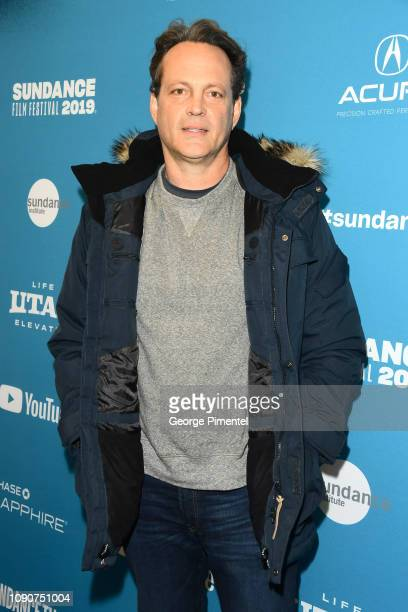 """Vince Vaughn attends the surprise screening of """"Fighting With My Family"""" during the 2019 Sundance Film Festival at The Ray on January 28, 2019 in..."""