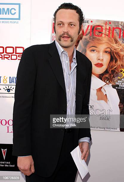 Vince Vaughn during AMC Movieline's Hollywood Life Magazine's Young Hollywood Awards Arrivals by Chris Polk at El Rey Theatre in Los Angeles...