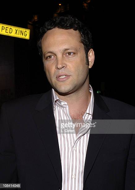Vince Vaughn during 'Be Cool' Los Angeles Premiere Red Carpet at Grauman's Chinese Theater in Los Angeles California United States